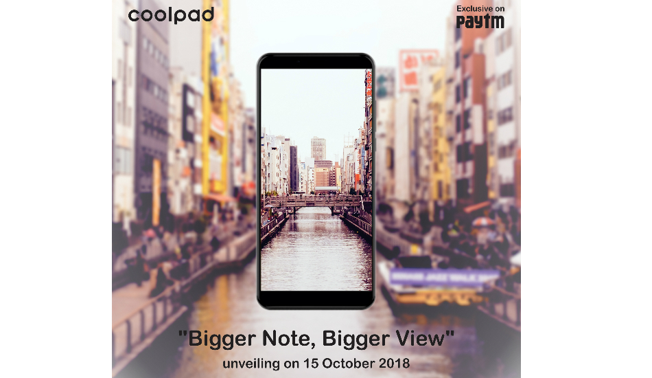 Coolpad Note 8 launched with 5.99-inch Full HD+ display and 4000mAh battery for Rs 9,999
