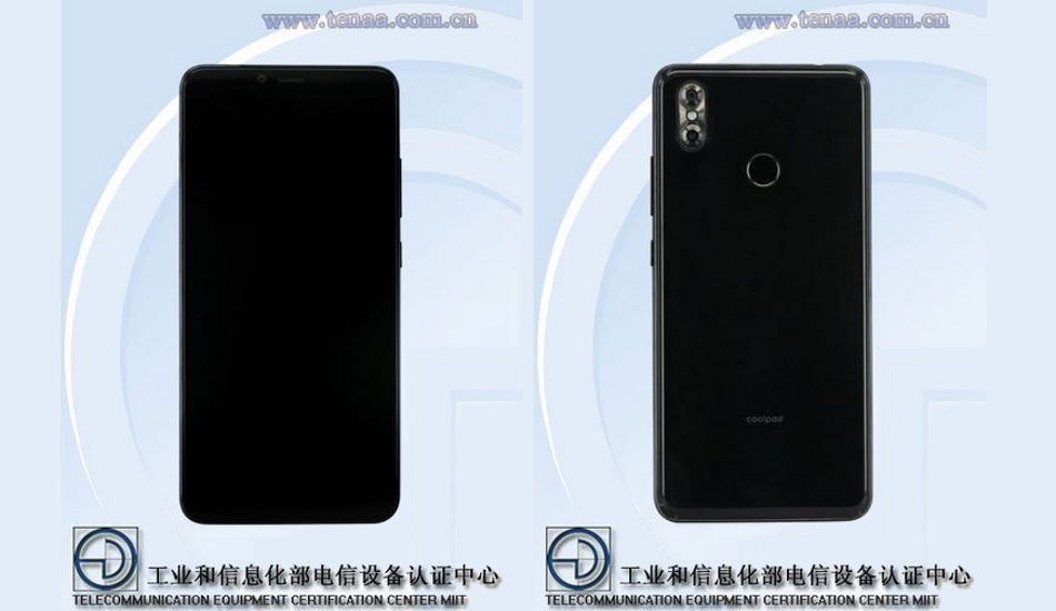 Coolpad phone with 6.28-inch Full HD+ display and 4GB RAM receives TENAA certification
