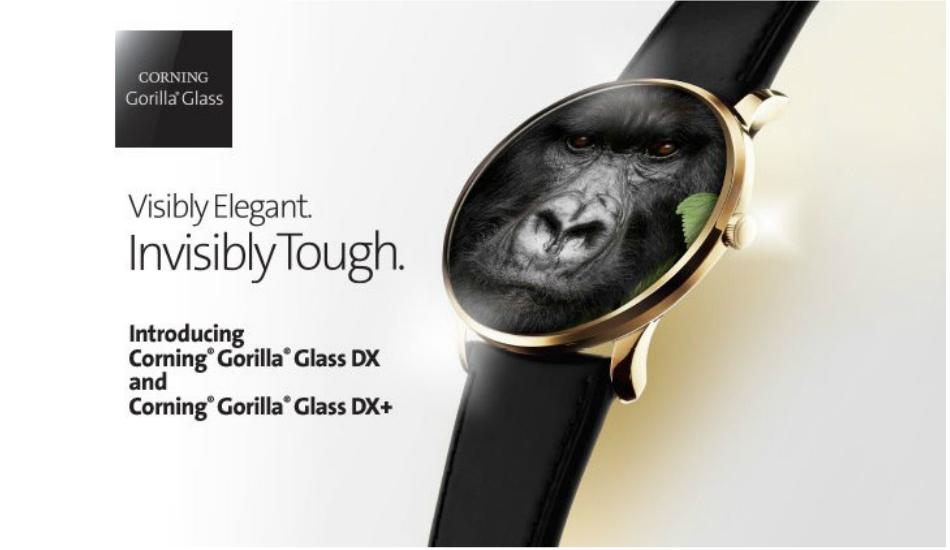Corning unveils Gorilla Glass DX, DX Plus for smartwatches