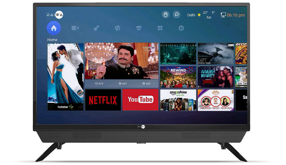 Daiwa introduces a new range of Smart TVs in India
