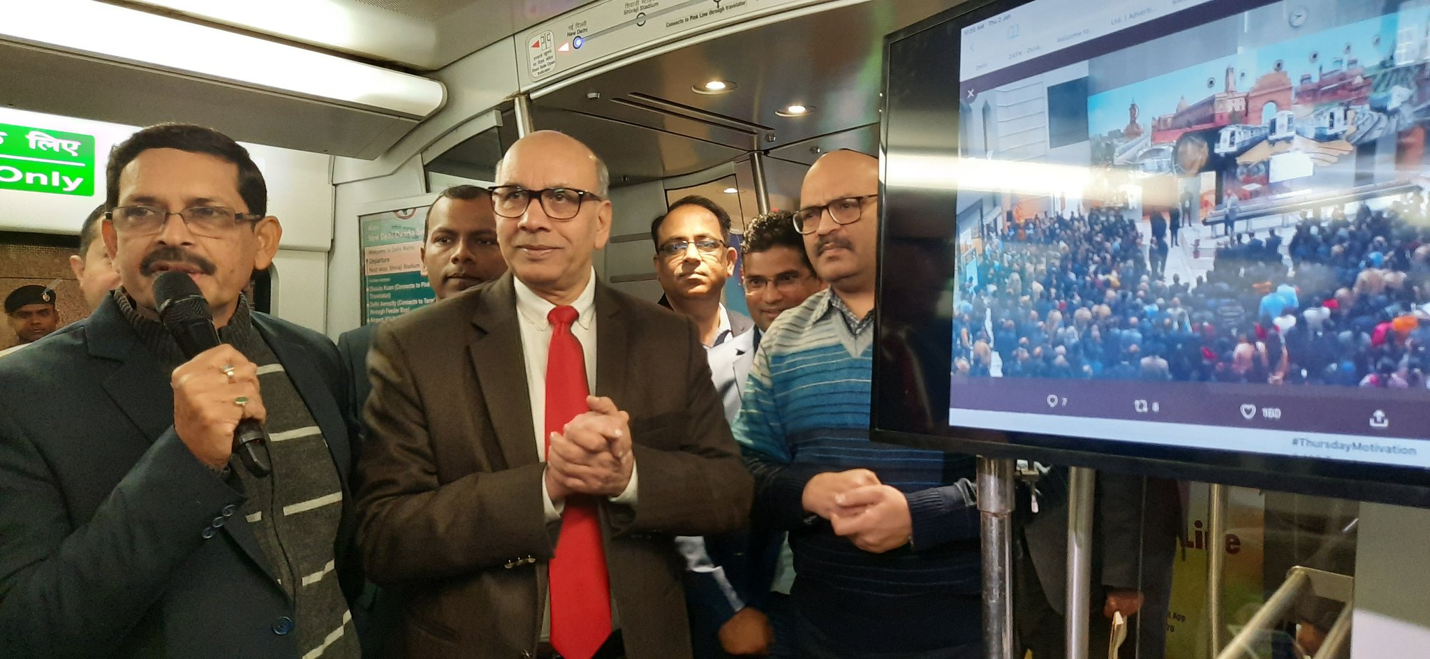 Delhi Metro launches free Wi-Fi facility on Airport Express Line