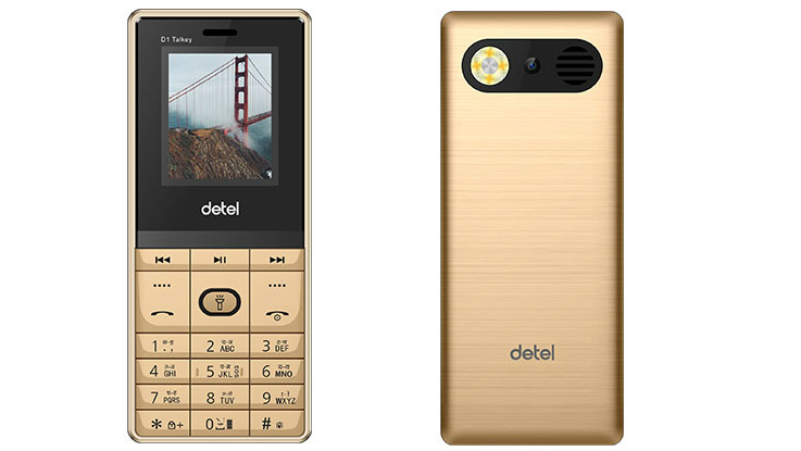 Detel D1 Talkey feature phone launched in India for Rs 699