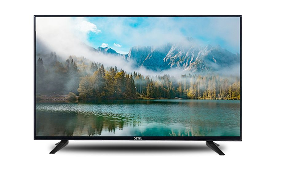 Detel launches 32-inch LED TV in India at Rs 6,999