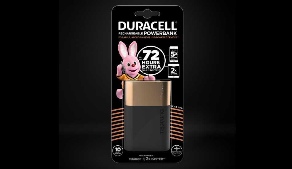 Duracell forays into mobile power, introduces Power banks starting at Rs 999
