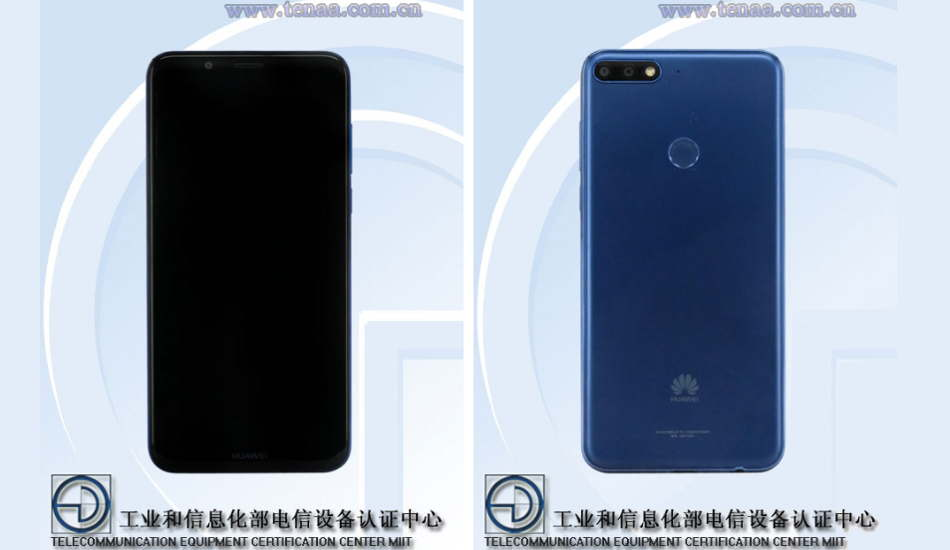 Huawei Enjoy 8 spotted with 18:9 Display and Android Oreo
