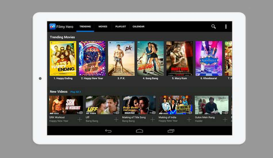 Love Hindi movies and songs? Then you must download as Bollywood Songs app