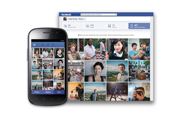 Android Facebook app gets auto image upload feature