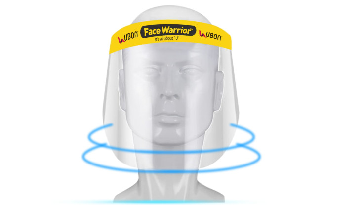 Ubon introduces face shield in India for Rs 399