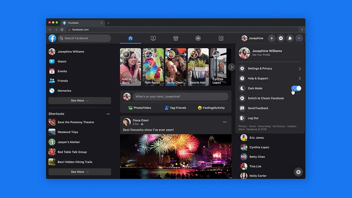 Facebook finally gets dark mode for desktop - How it works