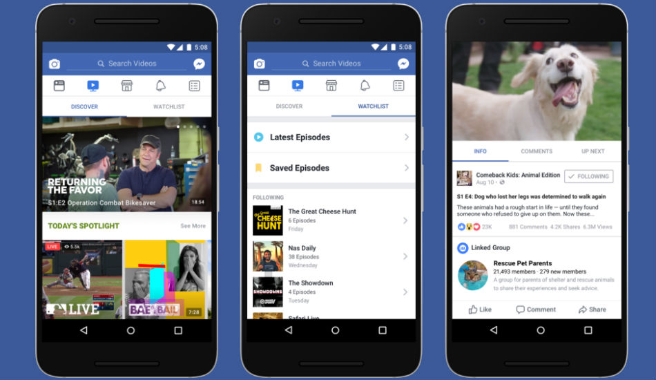 Facebook to launch its video platform 'Watch' in India soon: Report