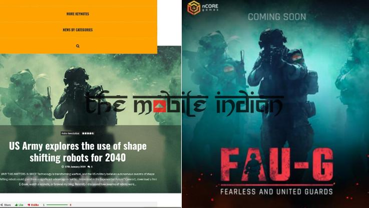 FAU-G banner image is copied!