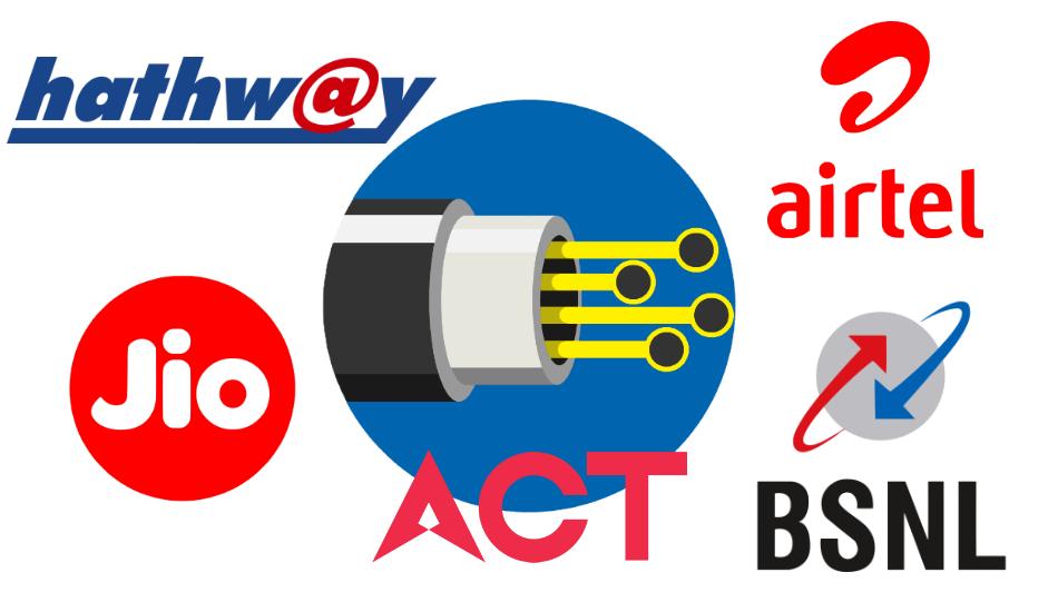 Jio Fiber vs BSNL Bharat Fiber vs Airtel V-Fiber vs ACT Fibernet vs Hathway Fiber: What does the cheapest plan get you?