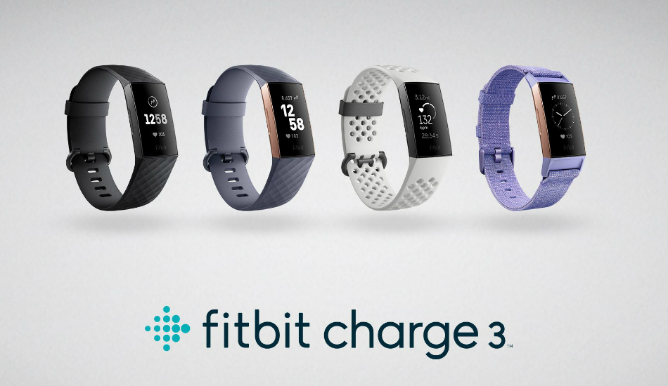 Fitbit announces Charge 3 fitness tracker, priced at Rs 13,990