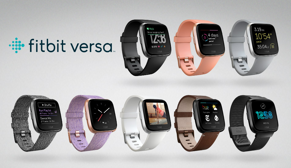 Fitbit Versa smartwatch with heart rate tracking launched in India for Rs 19,999