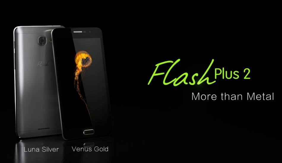 Alcatel Flash Plus 2 with 5.5-inch Full HD, Android Marshmallow launched