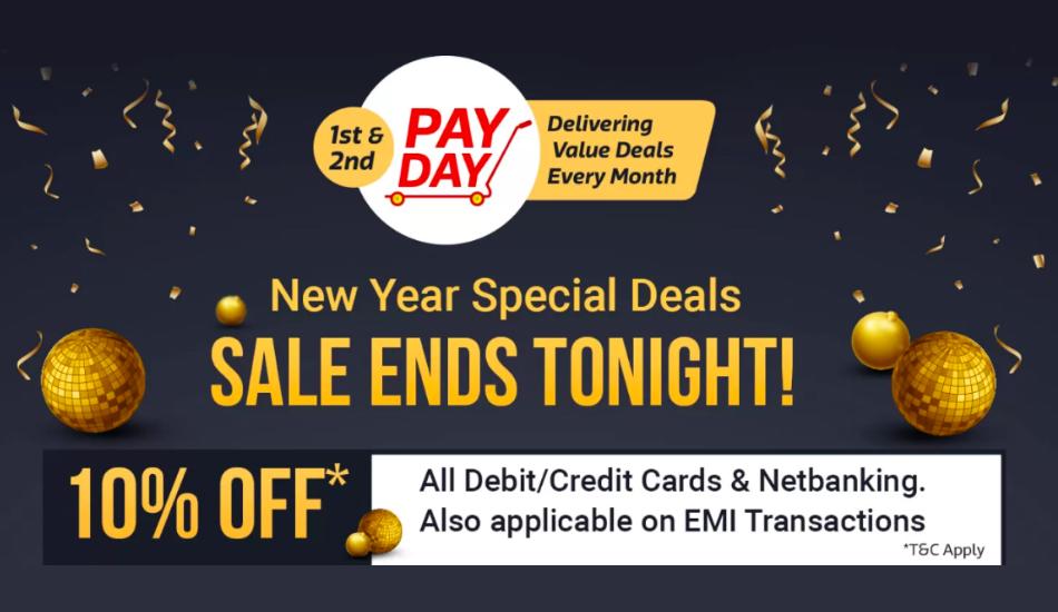 Flipkart Payday sale: Discounts on Smart TVs, home appliances