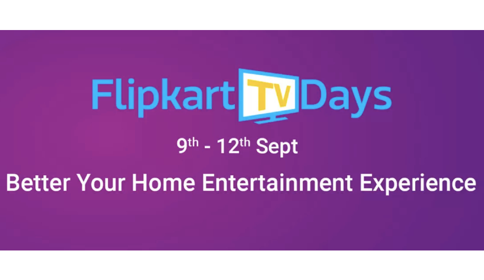 Flipkart TV days: Offers on Xiaomi, Samsung, Thomson, Vu, iFFALCON TVs starting today