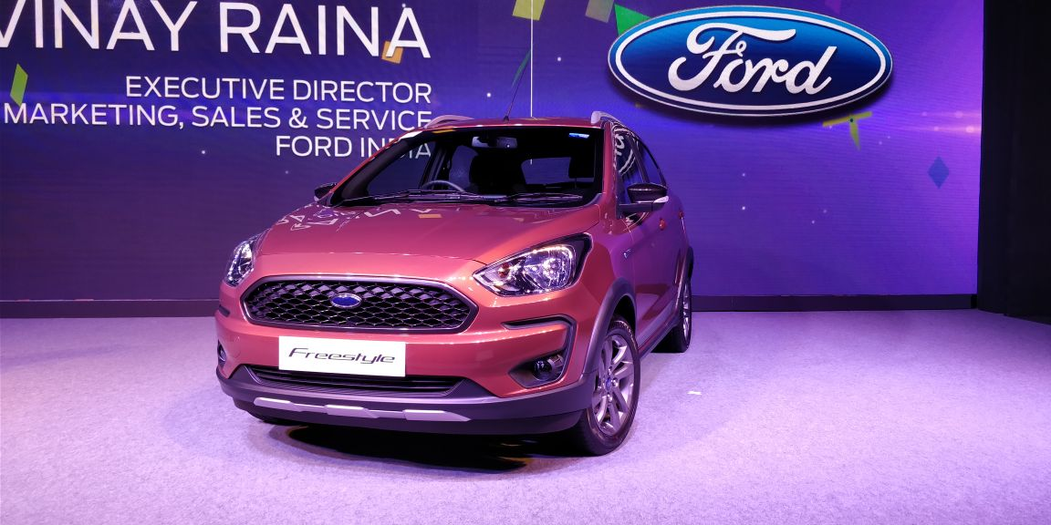 Ford Freestyle launched in India, price starts at Rs 5.09 Lakh