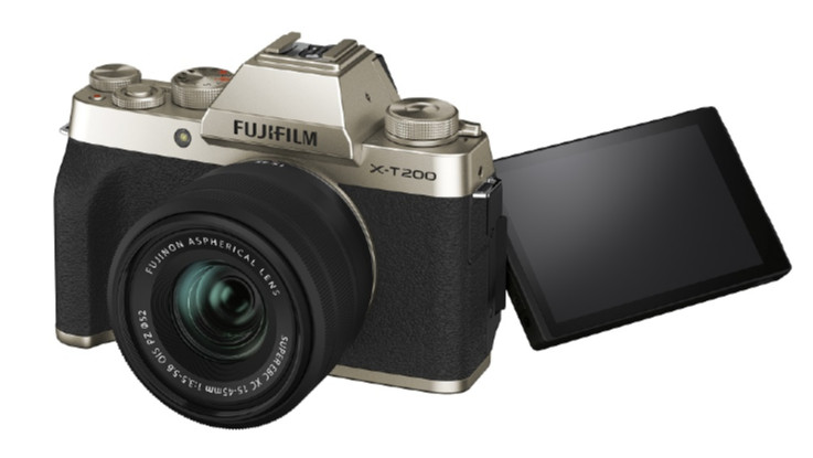 Fujifilm X-T200 mirrorless camera launched in India