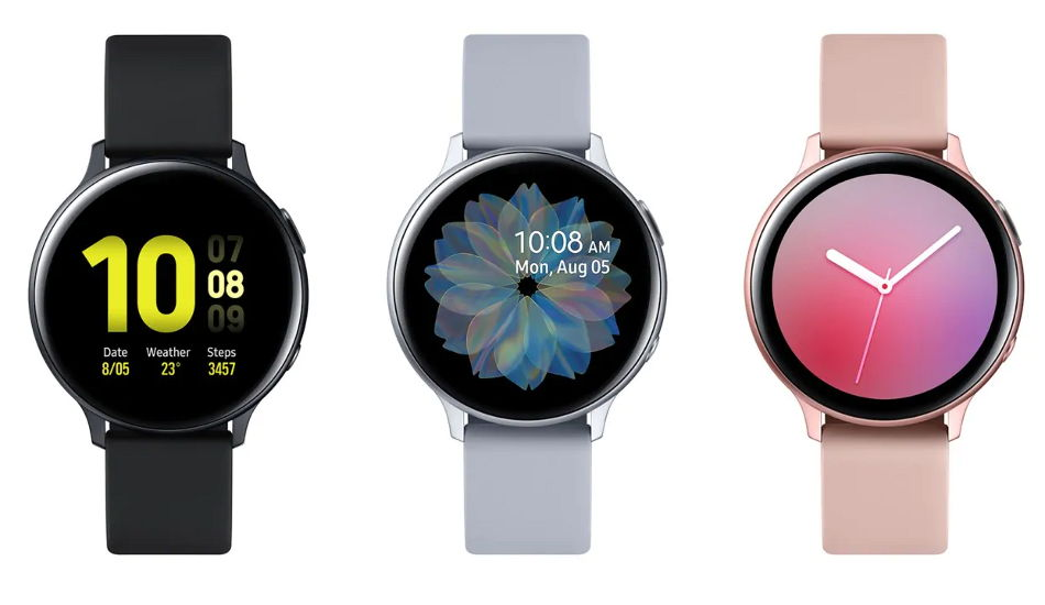 Samsung Galaxy Watch Active 2 launched with Super AMOLED display, rotating touch bezel