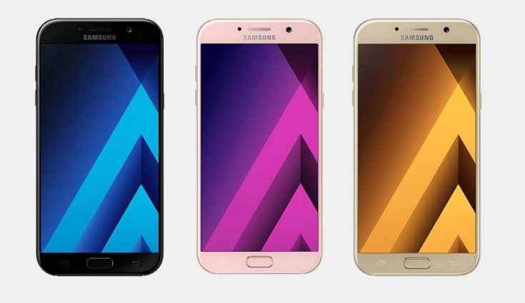 Samsung Galaxy A7 (2017), Galaxy A5 (2017) and Galaxy A3 (2017) start receiving Android Oreo update