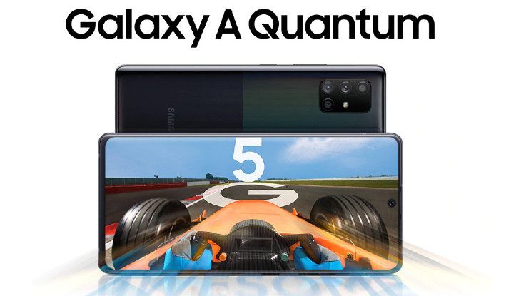 Samsung Galaxy A Quantum is world's first 5G smartphone with quantum security chip
