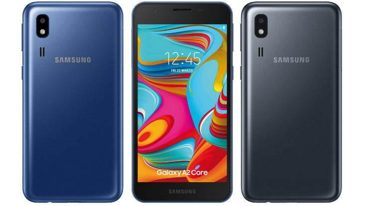 Samsung Galaxy A2 Core with Android Oreo (Go Edition) launched in India for Rs 5290