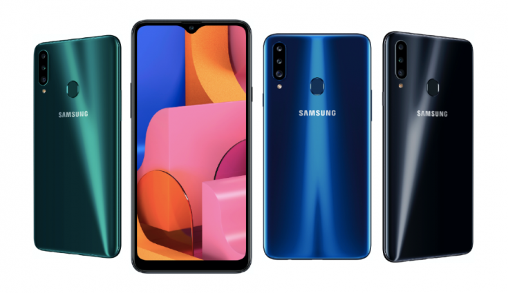 Samsung rolls out Android 10 update to Galaxy A20s