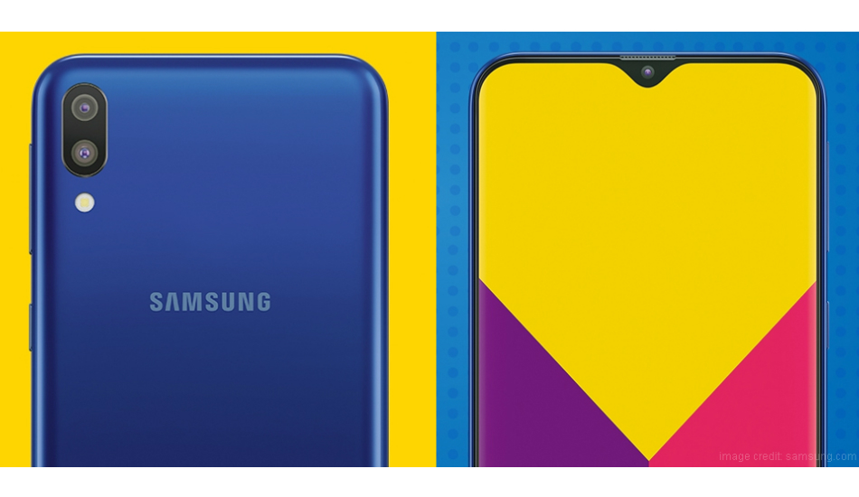 Samsung Galaxy M10 design and  specs leaked