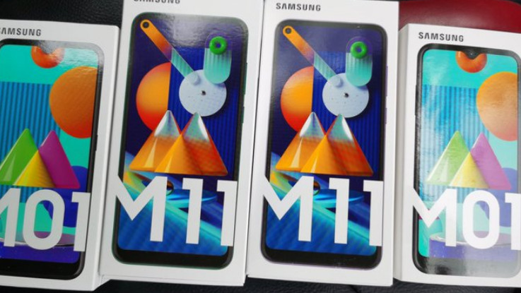 Samsung Galaxy M01, Galaxy M11 pricing details leaked ahead of June 2 launch