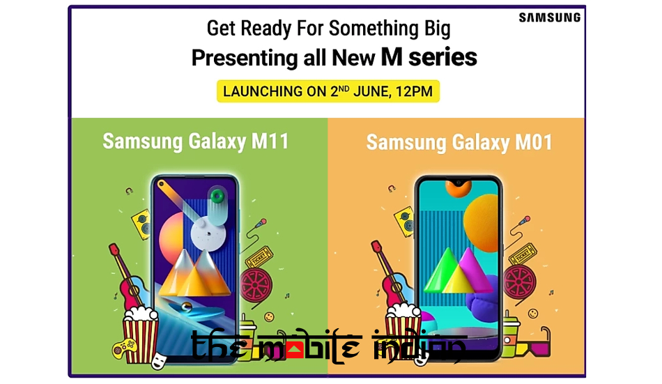 Samsung Galaxy M11 and Galaxy M01 launching in India on June 2