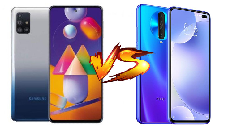 Samsung Galaxy M31s vs Poco X2