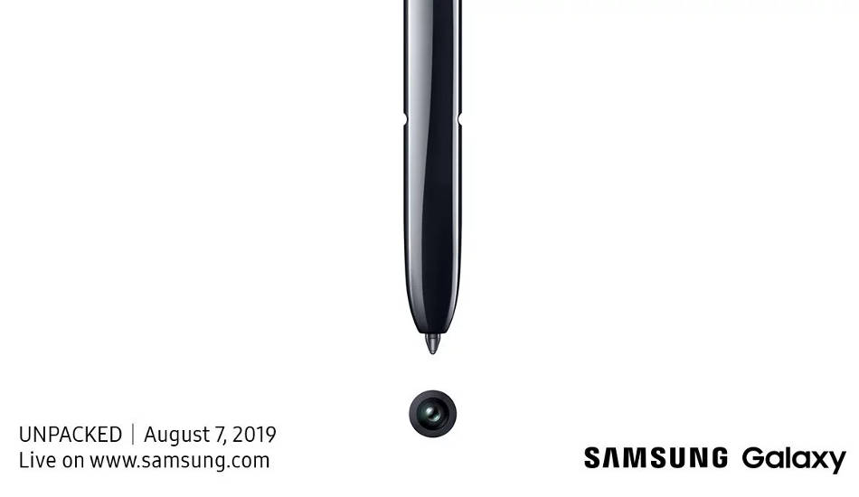 Samsung Galaxy Note 10 will launch on August 7