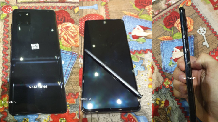 Samsung Galaxy Note 10 Lite images leaked online