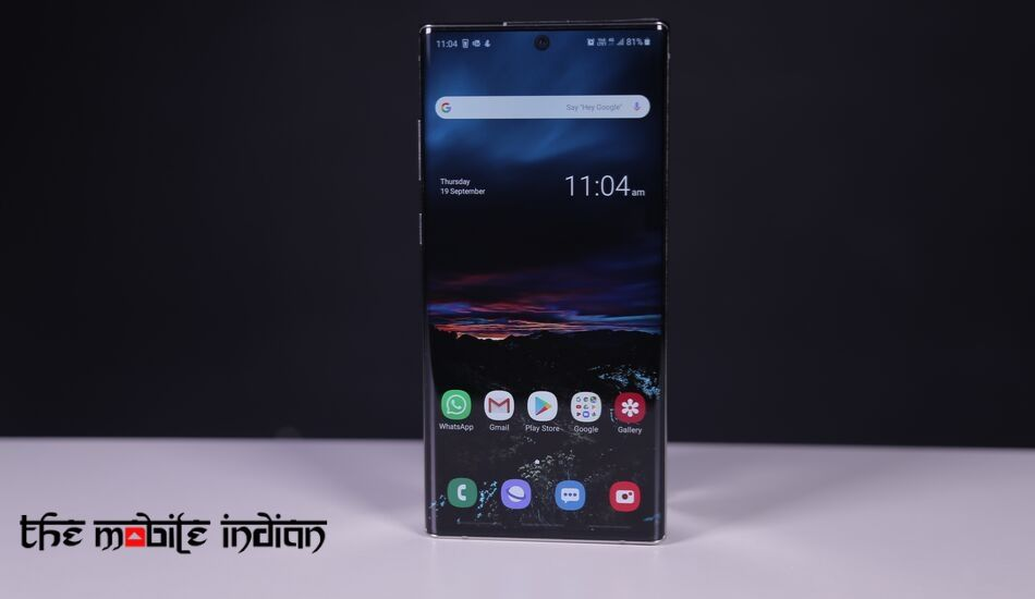 Samsung Galaxy Note 10, Galaxy Note 10+ start receiving Android 10 update in India