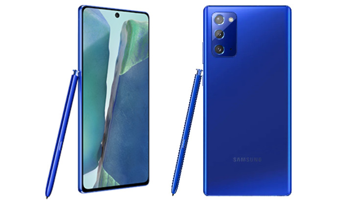 Samsung Galaxy Note 20 Mystic Blue colour variant launched in India