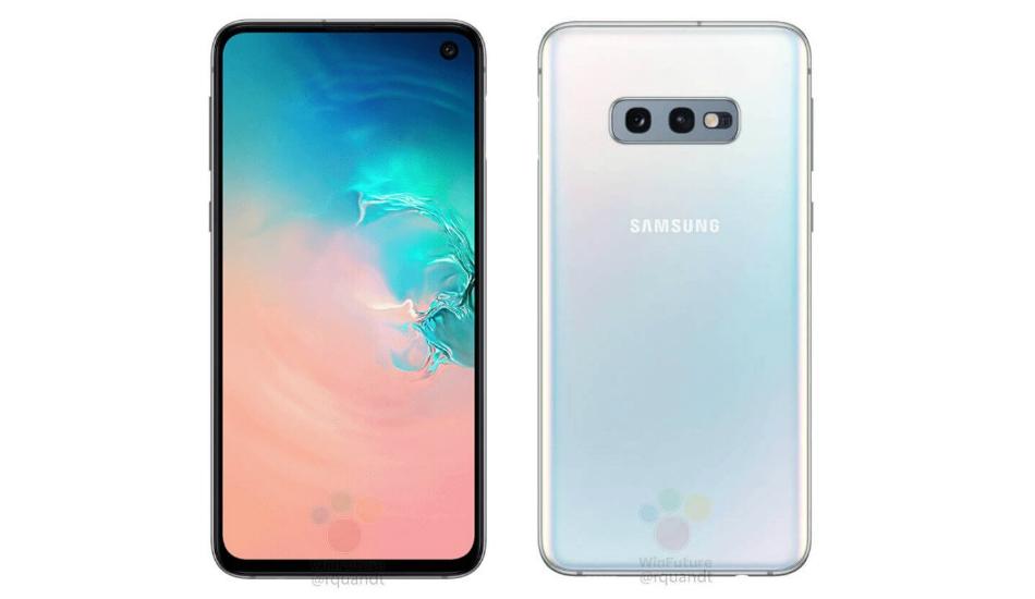 Samsung Galaxy S10e official-like renders hint dual cameras, edge-mounted fingerprint