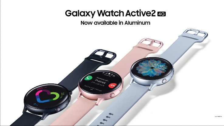 Samsung introduces Aluminium Edition of Galaxy Watch Active 2 4G in India