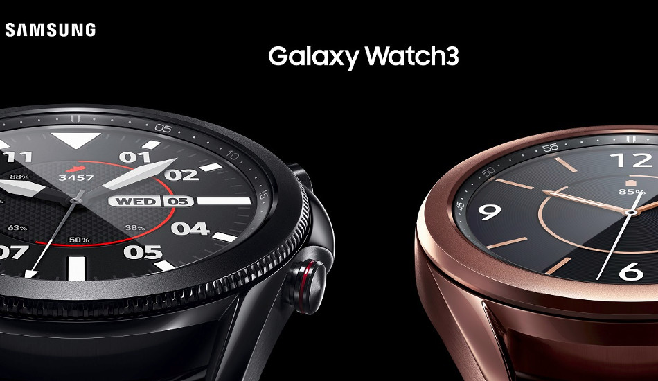 Samsung Galaxy Watch 3, Galaxy Buds Live launched in India