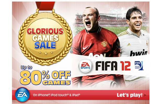 EA Mobile's iOS game sale offers up to 80% discount on select games