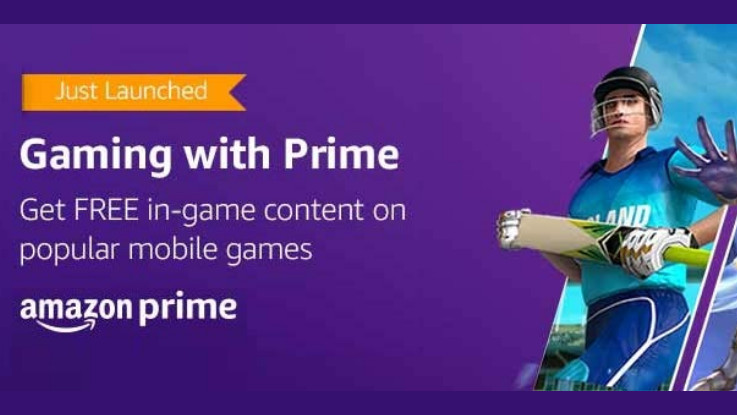 Amazon launches Gaming benefits with Prime membership in India