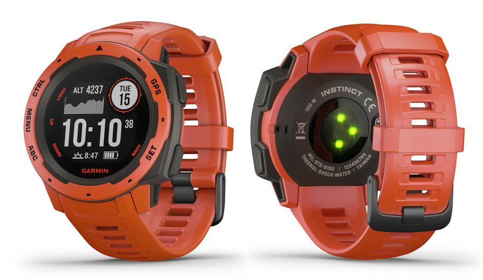 Garmin Instinct rugged 810G standard smartwatch announced with 14-day battery