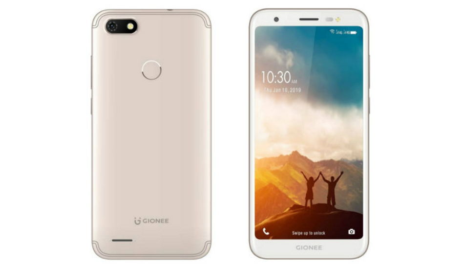 Gionee F205 Pro launched for Rs 5,890