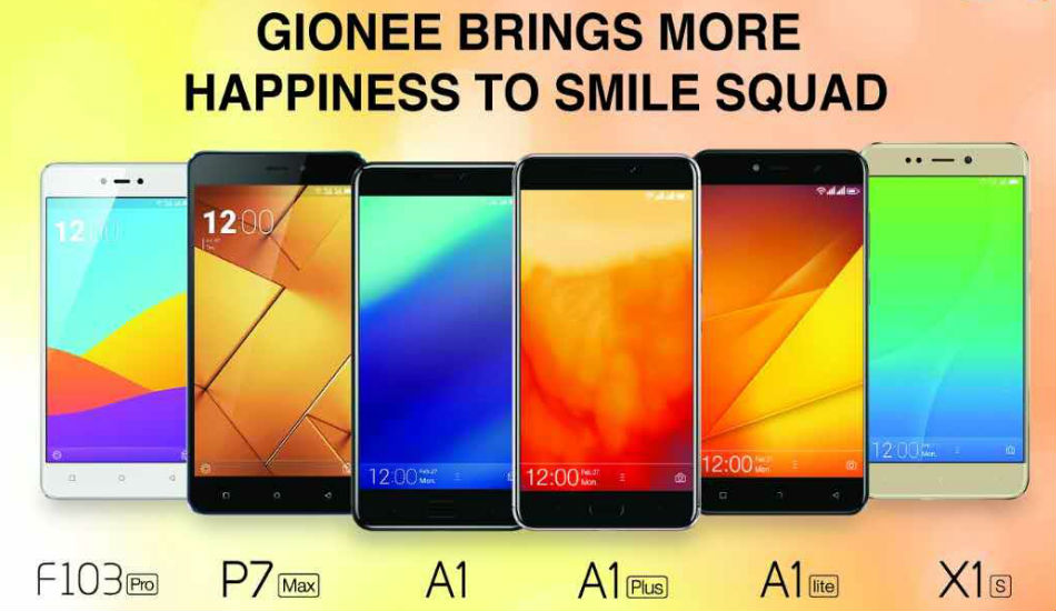 Gionee announces price cut on its range of smartphones