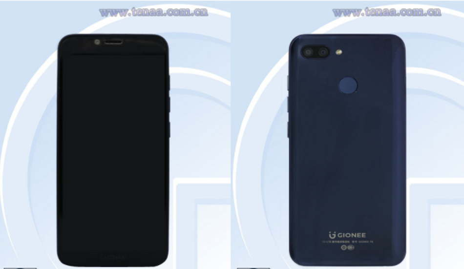 Gionee F6 spotted on TENAA, comes with 4GB RAM and dual rear cameras