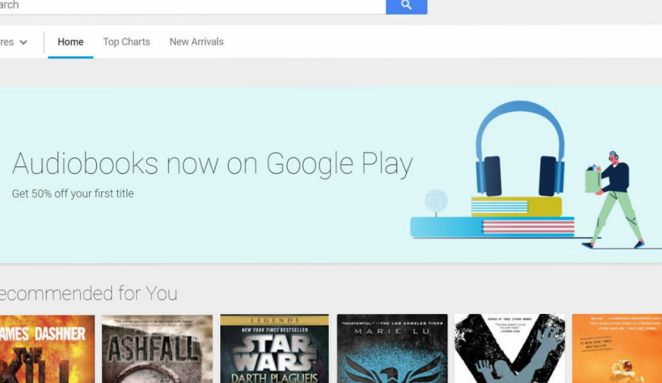 Google to start selling audiobooks on Play Store