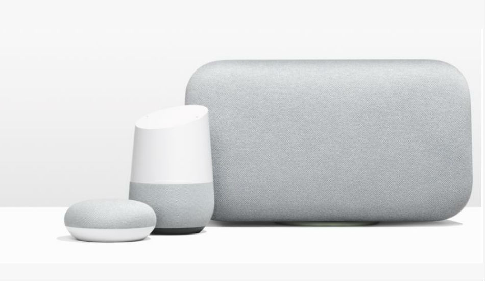 Google Home Mini, Home Max and Pixel Buds announced