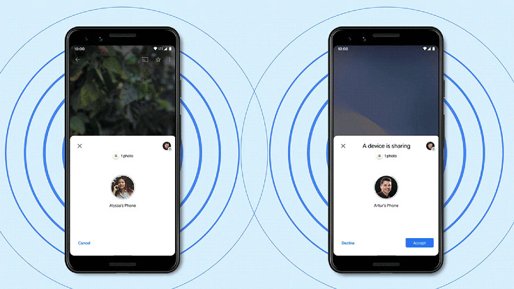 Google introduces Apple's AirDrop competitor with Nearby Share