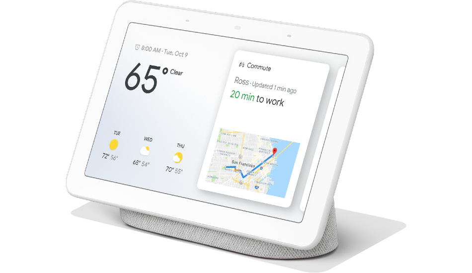 Google Nest Hub smart display launched in India for Rs 9,999