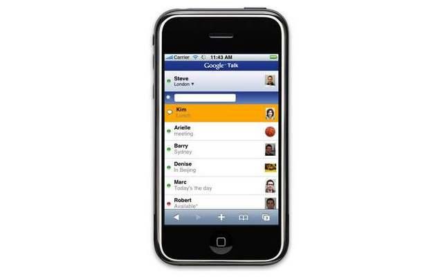 Google shuts down GTalk mobile web app